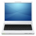 128x128px size png icon of Device Laptop 2