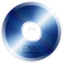 128x128px size png icon of Disk DVD