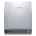 128x128px size png icon of Disk HDD Alt