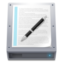 128x128px size png icon of Disk HDD Documents