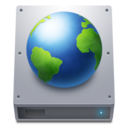 128x128px size png icon of Disk HDD Web