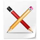 128x128px size png icon of File Application