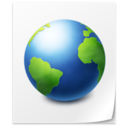 128x128px size png icon of File Web