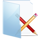 128x128px size png icon of Folder Blue Apps
