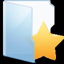 128x128px size png icon of Folder Blue Fav Alt