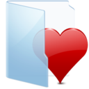 128x128px size png icon of Folder Blue Fav