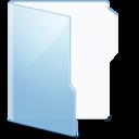 128x128px size png icon of Folder Blue Folder