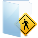 128x128px size png icon of Folder Blue Public