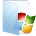 128x128px size png icon of Folder Blue Win