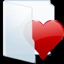 128x128px size png icon of Folder Light Fav
