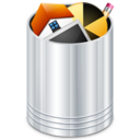 128x128px size png icon of System Recycle Bin