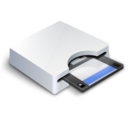 128x128px size png icon of Floppy Drive 3