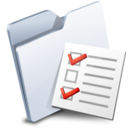 128x128px size png icon of Folder Options