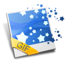 128x128px size png icon of GIF Image