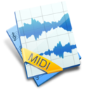 128x128px size png icon of Midi