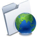 128x128px size png icon of Web Folders