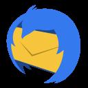 128x128px size png icon of Communication thunderbird