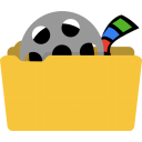 128x128px size png icon of System videos