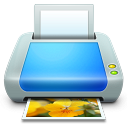 128x128px size png icon of Device Printer