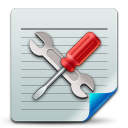 128x128px size png icon of Document config