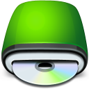 128x128px size png icon of Drive CD Rom
