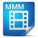 128x128px size png icon of Filetype mmm