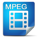 128x128px size png icon of Filetype mpeg