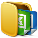 128x128px size png icon of Folder Office