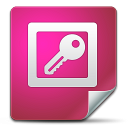128x128px size png icon of Office Access