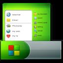 128x128px size png icon of Taskbar Start Menu