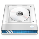128x128px size png icon of Disc Drive