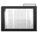 128x128px size png icon of Folder Dark Documents