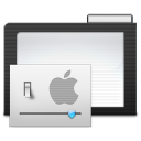 128x128px size png icon of Folder Dark Preferences