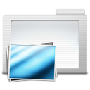 128x128px size png icon of Folder Images