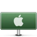 128x128px size png icon of Apple Sign