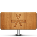 128x128px size png icon of Applications Wood
