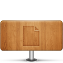 128x128px size png icon of Documents Wood