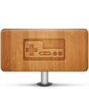 128x128px size png icon of Games Wood