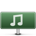 128x128px size png icon of Music Sign