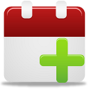 128x128px size png icon of add event