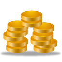 128x128px size png icon of earning statements