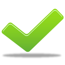 128x128px size png icon of success