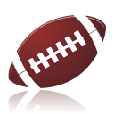 128x128px size png icon of american football
