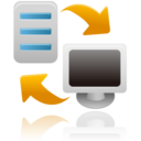 128x128px size png icon of backup restore