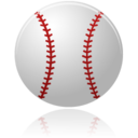 128x128px size png icon of baseball