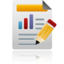 128x128px size png icon of custom reports