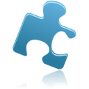 128x128px size png icon of puzzle