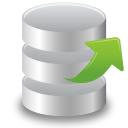 128x128px size png icon of Extract object