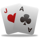 128x128px size png icon of Game playingcards