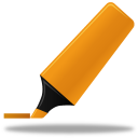 128x128px size png icon of Highlightmarker